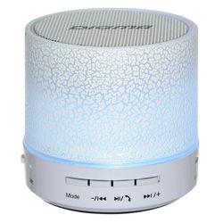 Digma S-12 (белый) - Колонка для телефона и планшетаПортативная акустика<br>Беспроводная портативная колонка, 1.0, суммарная мощность 3 Вт, частотный диапазон: 280-16000 Гц.
