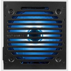 AeroCool VX Plus 800 800W RGB - Блок питанияБлоки питания<br>Блок питания ATX мощностью 800 Вт, стандарт ATX12V 2.3, охлаждение: 1 вентилятор (120 мм). Для работы продукта требуется наличие хаба или материнская плата с поддержкой RGB-подсветки.