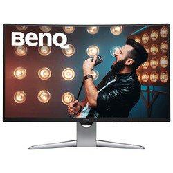 Монитор BenQ EX3203R (черно-серебристый) - МониторМониторы<br>ЖК (TFT *VA) 31.5quot;, широкоформатный, 2560x1440, LED-подсветка, 400 кд/м2, 3000:1, 4 мс, 178°/178°, стереоколонки, USB-концентратор, HDMI x2, DisplayPort, USB (видео).