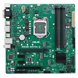 ASUS PRIME Q370M-C RTL - Материнская платаМатеринские платы<br>Intel Q370, 1xLGA1151 v2, 4xDDR4 DIMM, 1xPCI-E x16, встроенный звук: HDA, 7.1, Ethernet: 1000 Мбит/с, форм-фактор microATX, HDMI, DisplayPort.