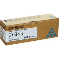 Картридж для Ricoh SP C360DNw, C360SNw, C360SFNw, C361SFNw (SP C360E) (голубой) - Картридж для принтера, МФУКартриджи<br>Картридж совместим с моделями: Ricoh SP C360DNw, C360SNw, C360SFNw, C361SFNw.