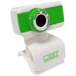 CBR CW 832M (зеленый) - Веб камераВеб-камеры<br>веб-камера с матрицей 1.3 мегапикс. , разрешение видео 1280x1024, подключение через USB 2.0, встроенный микрофон, ручная фокусировка, совместима с Windows