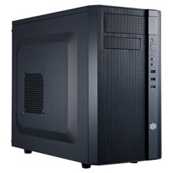 Cooler Master N200 (NSE-200-KKN1) w/o PSU Black - КорпусКорпуса<br>Cooler Master N200 (NSE-200-KKN1) w/o PSU Black - компьютерный корпус Mini-Tower, без блока питания , для плат форм-фактора mATX, Mini-ITX, разъемы спереди: USB x3, включая USB 3.0, наушники, микрофон, материал: сталь, габариты: 202x378x445 мм, вес 4.3 кг