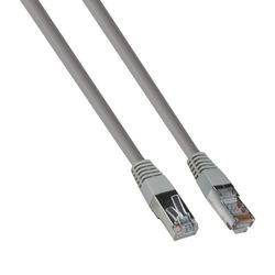 Патч-корд FTP кат. 5e 1м (Exegate EX272309RUS) (серый) - КабельСетевые аксессуары<br>Экранированный FTP патч-корд, категория 5е, тип разъемы 2х RJ45 8P8C, длина 1м.