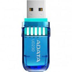 ADATA AUD230 32GB (AUD230-32G-RBL) (синий) - USB Flash driveUSB Flash drive<br>Объём памяти - 32 ГБ, интерфейс - USB 2.0, флешка-брелок, влагозащищенный корпус, материал корпуса - пластик.