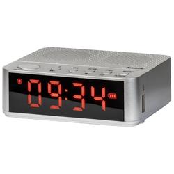 Defender Enjoy M800 (серебристый) - Колонка для телефона и планшетаПортативная акустика<br>Звук стерео, питание от батарей, Bluetooth, воспроизведение с USB-накопителя, microSD, радиотюнер, будильник.