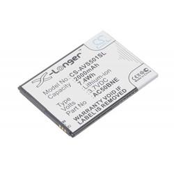 Аккумулятор для Archos 50b Neon, 50b Oxygen, GSmart Mika M2 (2000mAh) (CameronSino PDD-908) - Аккумулятор
