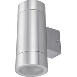 Ecola GX53 LED 8013A (сатин хром) - ОсвещениеНастольные лампы и светильники<br>Накладной светильник, патрон 2хGX53, степень защиты IP65, форма: цилиндр.
