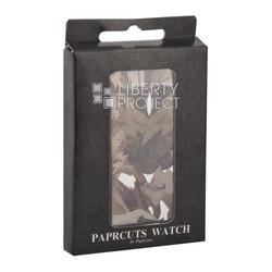 Часы наручные PAPRCUTS WATCH (камуфляж коричневый) - Наручные часыНаручные часы<br>Высокотехнологичный материал - супер легкий, прочный и водозащитный - даже случайное попадание влаги не причинит никакого вреда, встроенный светодиодный экран дисплея, застёжка на магнитную пряжку.