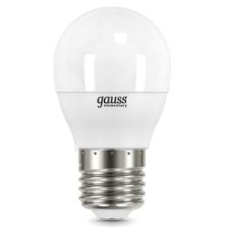 Gauss LED Elementary Globe 10W E27 3000K - ЛампочкаЛампочки<br>Светодиодная лампочка, мощность 10Вт, цоколь E27, форма: шар.