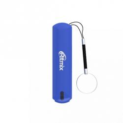 Ritmix RPB-2001L (голубой) - Внешний аккумуляторУниверсальные внешние аккумуляторы<br>Ritmix RPB-2001L - 1хUSB, 2000мА, литий-ионный аккумулятор, время зарядки 1.5 ч., индикатор заряда.