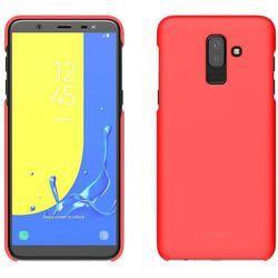 Чехол-накладка для Samsung Galaxy J8 2018 (Araree Aero GP-J810KDCPBIB) (красный) - Чехол для телефонаЧехлы для мобильных телефонов<br>Чехол плотно облегает корпус и гарантирует надежную защиту от царапин и потертостей.