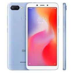 Xiaomi Redmi 6 4/64GB (голубой) : - Мобильный телефон