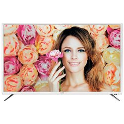 BBK 40LEX-5037/FT2C (белый) - ТелевизорТелевизоры и плазменные панели<br>ЖК-телевизор, 40quot;, 1920x1080, 1080p Full HD, DVR, мощность звука 16 Вт, HDMI x3, Ethernet, Wi-Fi, Smart TV.