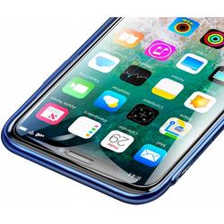 Защитное стекло для Apple iPhone Xs Max (Baseus SGAPIPH65-ES02) - ЗащитаЗащитные стекла и пленки для мобильных телефонов<br>Baseus Tempered Glass Film 0.3mm — это стекло повышенной прочности, созданное специально для защиты экрана Apple iPhone Xs Max. Оно имеет закругленные края, точно повторяющие фактуру смартфона, что исключит попадание пыли в пространство между стеклом и смартфоном. Стекло обладает олеофобной поверхностью и идеально передает цвета экрана без искажений.