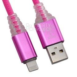 Кабель USB - Lightning для Apple iPhone, iPad (0L-00038867) (розовый) - КабелиUSB-, HDMI-кабели, переходники<br>Кабель обеспечивает высокую скорость передачи данных для быстрой загрузки музыки, фотографий и видео на Ваше устройство, а также предлагает удобный способ зарядки.
