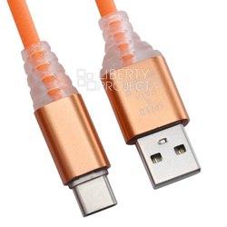 Кабель USB - USB Type-C (0L-00038893) (оранжевый) - КабелиUSB-, HDMI-кабели, переходники<br>Кабель обеспечивает высокую скорость передачи данных для быстрой загрузки музыки, фотографий и видео на Ваше устройство, а также предлагает удобный способ зарядки.