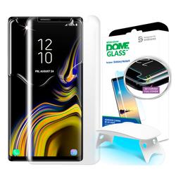 Защитное стекло для Samsung Galaxy Note 9 (Whitestone DomeGlass GP-N960WTEEAAB) (прозрачная) - ЗащитаЗащитные стекла и пленки для мобильных телефонов<br>Обеспечит сверхустойчивость к царапинам и защитит от ударов.