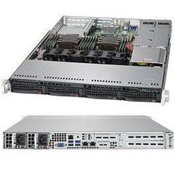 SuperMicro CSE-815TQC-R706WB2 - Рэковое сетевое хранилищеРэковые сетевые хранилища<br>4 отсека для 3.5quot; SAS/SATA HDD, 1U, 4x 40x56мм вентилятора, два блока питания 750Вт.