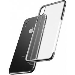 Чехол накладка для Apple iPhone XR (Baseus Shining ARAPIPH61-MD01) (черный) - Чехол для телефонаЧехлы для мобильных телефонов<br>Baseus Shining — это ультратонкая прочная накладка на заднюю часть смартфона iPhone XR, призванная обеспечить высококлассную защиту и добавить ему элегантности. Аксессуар идеально подогнан под габариты коммуникатора и имеет накладки для кнопок управления, а также вырезы в местах динамиков, разъемов, камеры и датчиков.