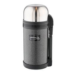 Thermos ThermoCafe HAMMP-1200-HT (725370) - Термос, термокружкаТермосы и термокружки<br>Комбинированное горло термоса для еды и напитков это универсальный вариант на все случаи жизни. Крышка может использоваться как чашка или блюдце, а в комплекте под крышкой дополнительная пластиковая чашка. Объем термоса дает возможность сохранять еду или напитки на двоих, что станет удачным решением для семейного или группового отдыха на природе.