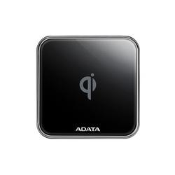 Беспроводное зарядное устройство A-DATA CW0100 (черный) - Беспроводное зарядное устройство для мобильного телефона, планшетаБеспроводные зарядные устройства для мобильных телефонов и планшетов<br>Беспроводная зарядная панель стандарта Qi, поддерживает быструю зарядку до 10 Вт смартфонов и совместимых портативных устройств. Корпус металл, индикатор зарядки.