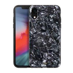 Чехол-накладка для Apple iPhone XR (LAUT PERAL GLITTER LAUT_IP18-M_PL_BK) (черный) - Чехол для телефонаЧехлы для мобильных телефонов<br>Чехол плотно облегает корпус и гарантирует надежную защиту от царапин и потертостей.