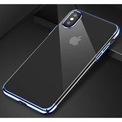 Чехол накладка для Apple iPhone Xs (Baseus Glitter Case WIAPIPH58-DW03) (голубой) - Чехол для телефонаЧехлы для мобильных телефонов<br>Аксессуар выполнен из прочного износостойкого поликарбоната, обеспечивающего приятные тактильные ощущения. Ультратонкая накладка имеет прозрачную фактуру и оставляет видимым эксклюзивный дизайн телефона. Она плотно прилегает к корпусу, отставляя все коммуникации в свободном доступе.