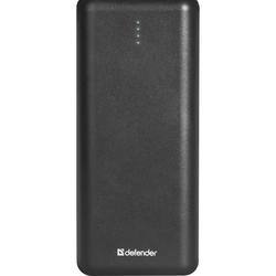 Defender Lavita 16000B - Внешний аккумуляторУниверсальные внешние аккумуляторы<br>Внешний аккумулятор емкостью 16000мАч, разъемы: 2x USB, зарядка от microUSB, максимальный выходной ток: 2100 мА.