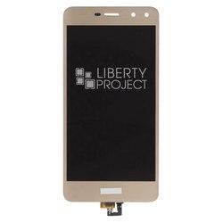 Дисплей для Huawei Y5 2017 с тачскрином (0L-00037399) (золотистый) - Дисплей, экран для мобильного телефонаДисплеи и экраны для мобильных телефонов<br>Полный заводской комплект замены дисплея для Huawei Y5 2017. Стекло, тачскрин, экран для Huawei Y5 2017 в сборе. Если вы разбили стекло - вам нужен именно этот комплект, который поставляется со всеми шлейфами, разъемами, чипами в сборе.
