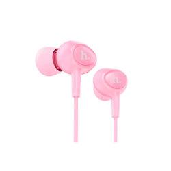 Hoco M3 (розовый) - НаушникиНаушники и Bluetooth-гарнитуры<br>Hoco M3 - наушники с микрофоном, вставные (затычки), поддержка iPhone, 16 Ом, 105 дБ, разъем mini jack 3.5 mm.