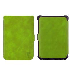 Чехол-книжка для Pocketbook 616, 627, 632 (Slim PB616-SL01GR) (зеленый) - Чехол для электронной книгиЧехлы для электронных книг<br>Чехол обеспечит защиту от царапин, потертостей и других нежелательных внешних воздействий.
