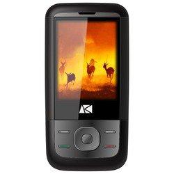 Ark Benefit V3 (черный) ::: - Мобильный телефонМобильные телефоны<br>Телефон Ark Benefit V3 - GSM, вес 103 г, ШхВхТ 53x103x14 мм, экран 2.4quot;, 320x240, FM-радио, Bluetooth, фотокамера 0.10 МП, память 32 Мб, аккумулятор 800 мА?ч