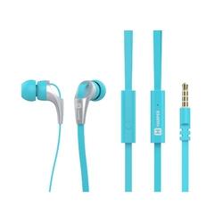 Harper HV-404 (голубой) - НаушникиНаушники и Bluetooth-гарнитуры<br>Проводные наушники вкладыши, микрофон, частота 20-20000Гц, разъем minijack 3.5mm.