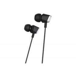 Harper HV-406 (черный) - НаушникиНаушники и Bluetooth-гарнитуры<br>Проводные наушники вкладыши, микрофон, частота 20-20000Гц, разъем minijack 3.5mm.