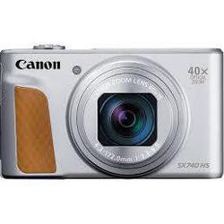 Компактный фотоаппарат Canon PowerShot SX740 HS (серебристый) - Фотоаппарат цифровой