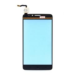 Тачскрин для Alcatel OT-6040Y (Idol X) (М0950566) (черный) - Тачскрин для мобильного телефона