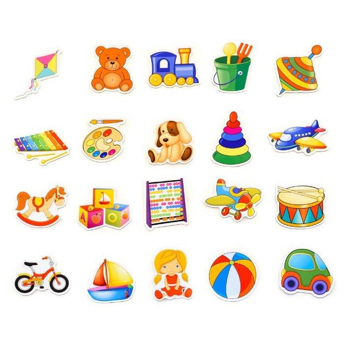 Картинка нарисованная игрушки