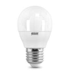 Gauss LED Elementary Globe 6W E27 6500K - Лампочка