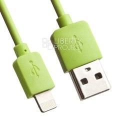Кабель USB-Lightning 1м (REMAX Light Series RC-06i) (зеленый) - КабелиUSB-, HDMI-кабели, переходники<br>Высококачественный кабель для зарядки и синхронизации устройств с разъемами USB - Lightning, длина 1 м.