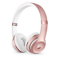 Beats Solo3 (MNET2EE/A) (розовое золото) - НаушникиНаушники и Bluetooth-гарнитуры<br>Bluetooth-наушники с микрофоном, накладные, закрытые, время работы 40 ч, чувствительность 110 дБ, импеданс 32 Ом, активное шумоподавление.
