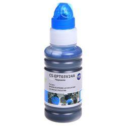 Чернила для Epson L4150, L4160, L6160, L6170 (Cactus CS-EPT03V24A) (голубой) (70мл) - Чернила для принтера