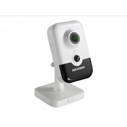 Hikvision DS-2CD2463G0-IW 4мм (белый) - Камера видеонаблюденияКамеры видеонаблюдения<br>Разрешение 6Мп, матрица 1/2.9quot; Progressive Scan CMOS, встроенные микрофон и динамик, Wi-Fi, слот для microSD до 128Гб, ИК-подсветка до 10м, питание DC12В/PoE.