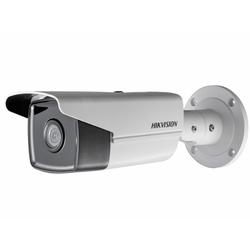 Hikvision DS-2CD2T23G0-I8 2.8мм (белый) - Камера видеонаблюденияКамеры видеонаблюдения<br>Разрешение 2Мп, матрица 1/2.8 Progressive Scan CMOS, аппаратный WDR 120дБ, ИК-подсветка до 80м.
