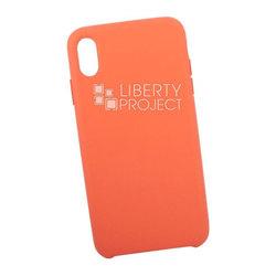 Чехол накладка для Apple iPhone XS Max (0L-00040578) (бледно-розовый) - Чехол для телефонаЧехлы для мобильных телефонов<br>Предназначен для защиты мобильного телефона от пыли, грязи, царапин и другого негативного воздействия внешних факторов.