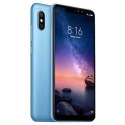 Xiaomi Redmi Note 6 Pro 4/64GB (синий) ::: - Мобильный телефонМобильные телефоны<br>Смартфон Xiaomi Redmi Note 6 Pro 4/64GB - GSM, LTE, смартфон, Android, вес 182 г, ШхВхТ 76.4x157.9x8.26 мм, экран 6.25quot;, 2280x1080, Bluetooth, Wi-Fi, GPS, ГЛОНАСС, фотокамера 12 МП, память 64 Гб, аккумулятор 4000 мА?ч