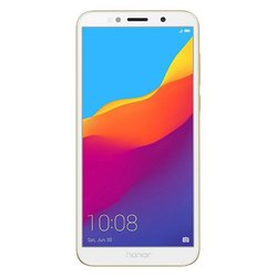 Honor 7A (золотистый) ::: - Мобильный телефонМобильные телефоны<br>Смартфон Honor 7A - GSM, LTE-A, смартфон, Android 8.1, ШхВхТ 70.9x146.5x8.3 мм, экран 5.45quot;, 1440x720, FM-радио, Bluetooth, Wi-Fi, GPS, ГЛОНАСС, фотокамера 13 МП, память 16 Гб, аккумулятор 3020 мА?ч