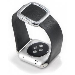 Ремешок для Apple Watch 42, 44mm (COTEetCI W5 Nobleman WH5201-BK) (черный) - Ремешок для умных часов