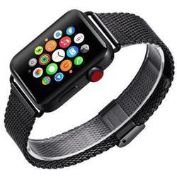 Ремешок для Apple Watch 38, 40mm (COTEetCI W23 WH5235-BK) (черный) - Ремешок для умных часов