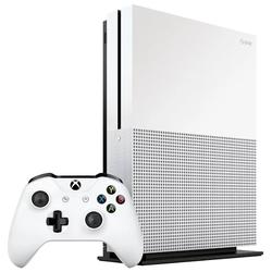 Microsoft Xbox One S 1Tb + Battlefield V + Game Pass + Xbox Live Gold (234-00689) (белый) - Игровая приставкаИгровые приставки<br>Стационарная, 1024 Гб, HD, IRDA, Wi-Fi, Ethernet, HDMI, USB, опт. выход, геймпад. В комплекте: консоль Xbox One S с жестким диском на 1 ТБ, беспроводной геймпад с разъемом 3,5 мм и Bluetooth, игра Battlefield V Deluxe Edition, абонемент 1 месяц Game Pass, 14 дней пробной подписки Xbox Live Gold, HDMI кабель, кабель питания.